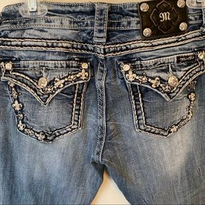 Miss Me boot cut jeans Size 27 INSEAM 32